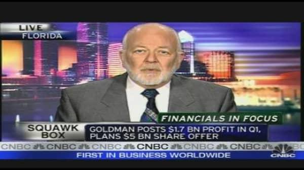 Buy on Financials