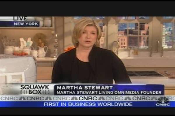 Media Maven Martha Stewart