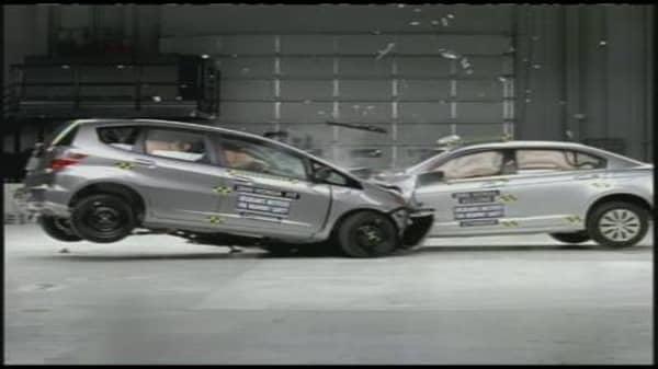 Honda Fit vs. Honda Accord