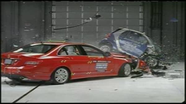 Smart Fortwo vs. Mercedes C class