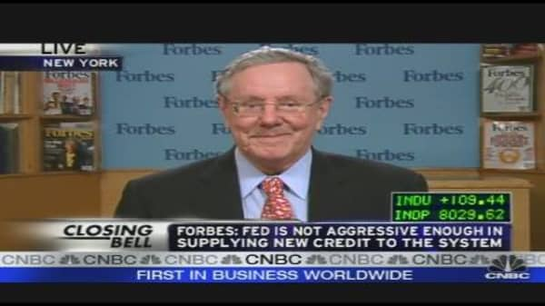 Forbes: Fed Needs to Be More Aggressive