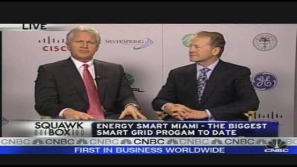 Miami's Energy Investment with GE & Cisco
