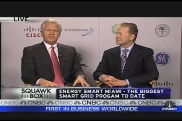 Miami's Energy Investment with GE & Cisco