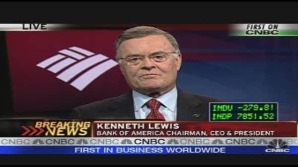 BofA CEO Lewis on Earnings, Outlook