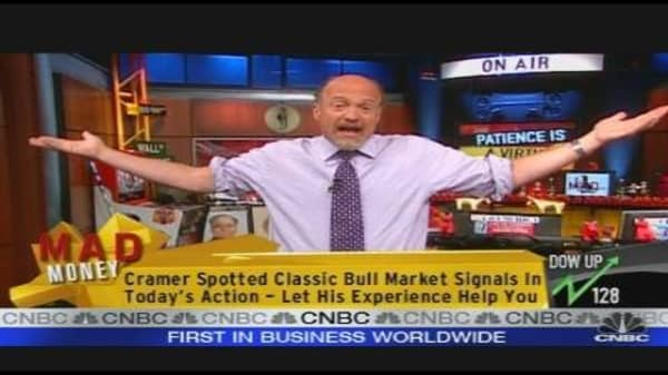 Cramer: Panic Doesn't Work