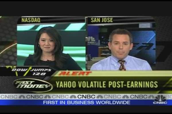 After Hours Action: Yahoo