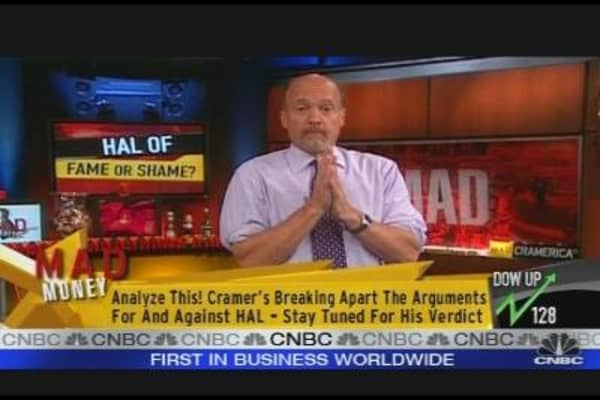 Cramer: Forget Halliburton