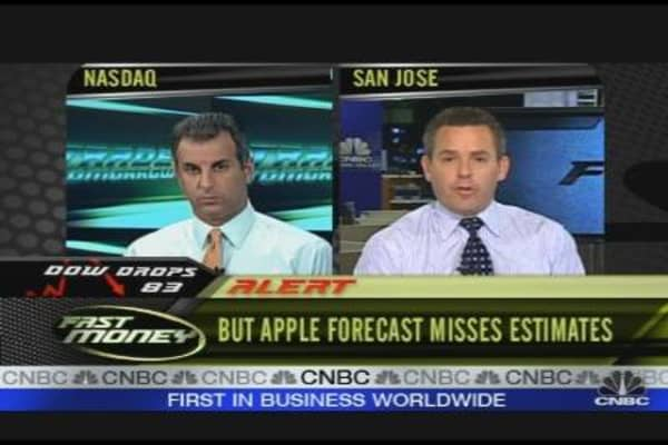 After Hours Action: Apple