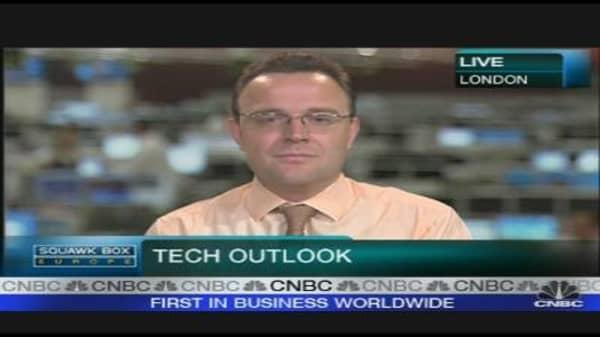 Tech Stocks Relatively Cheap