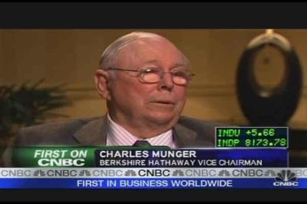Munger On Berkshire's Off Year