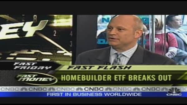Homebuilder ETF Breaks Out