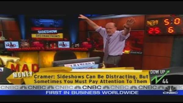 Cramer on Sideshow Distractions