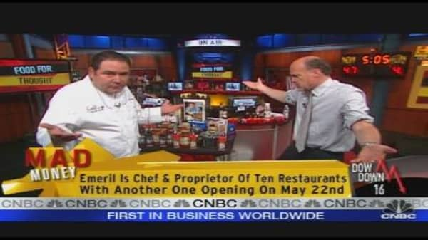 Emeril Lagasse on the Economy