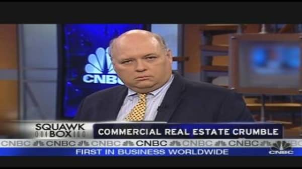 Commercial Real Estate Crumble