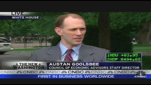 Goolsbee on the Economy