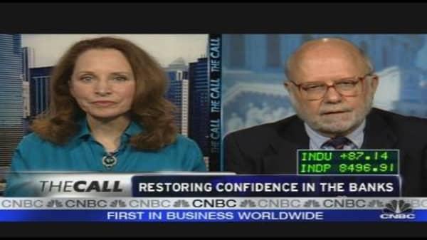 Restoring Confidence in Banks