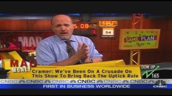 Cramer's Game Plan
