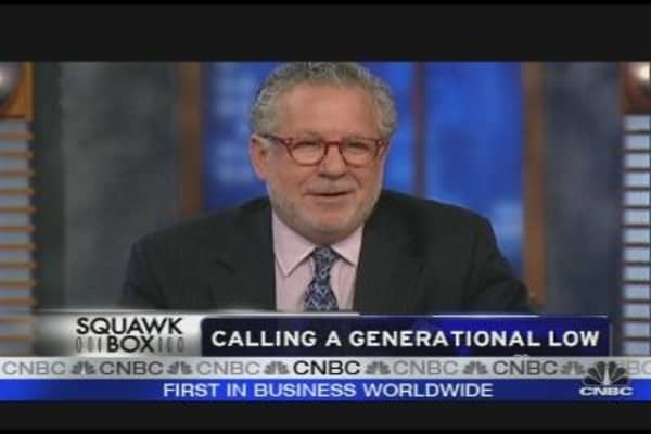Calling a Generational Low