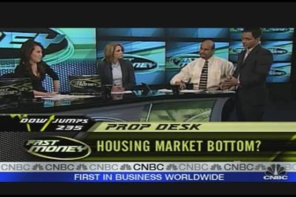 Housing Market Bottom?