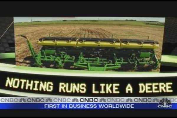 Deere Up 14% in '09