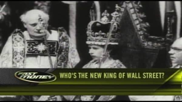 Who's the New King of Wall St.?