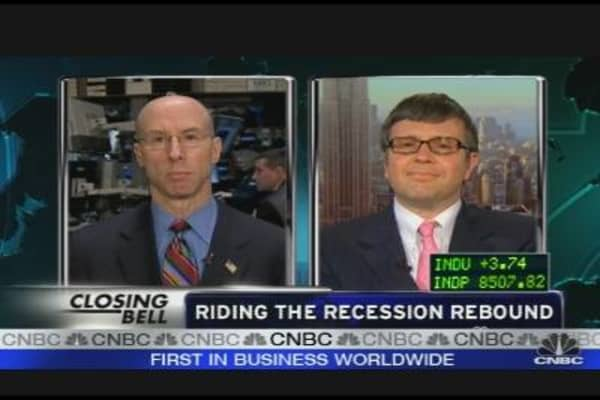 Riding the Recession Rebound
