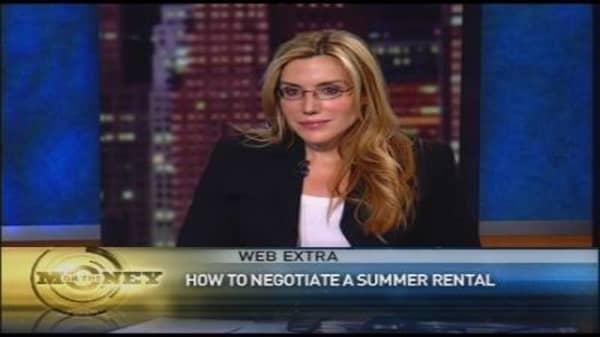 OTM Web Extra: Negotiating Summer Rentals