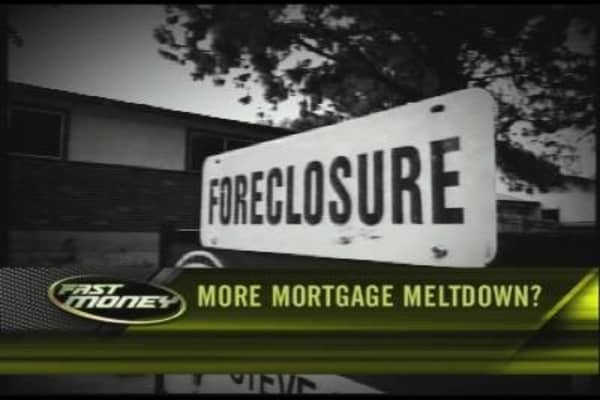 More Mortgage Meltdown?