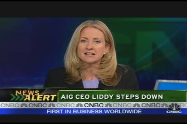 AIG Liddy to Leave