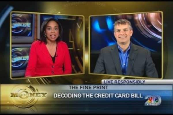The Fine Print: New Credit Card Bill