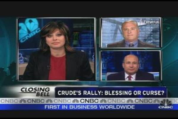 Crude's Rally: Blessing or Curse?