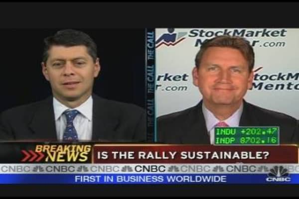 Is the Rally Sustainable?