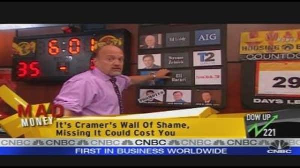 Cramer's Wall of Shame