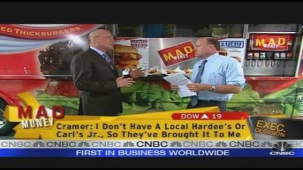 CKR CEO Talks Burgers, Sales