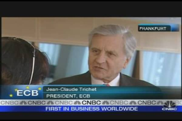 ECB's Trichet on Buying Bonds, Bullying