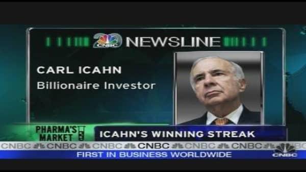Icahn's Winning Streak