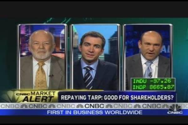 Repaying TARP: Good for Shareholders?