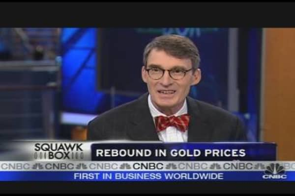 Rebound in Gold Prices