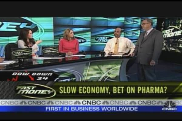 Slow Economy, Bet On Pharma?