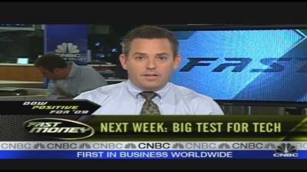 Big Test for Tech