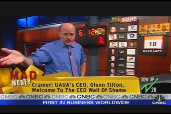 Cramer's Wall of Shame