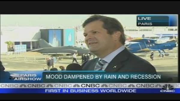 Bombardier CEO on Economic Outlook