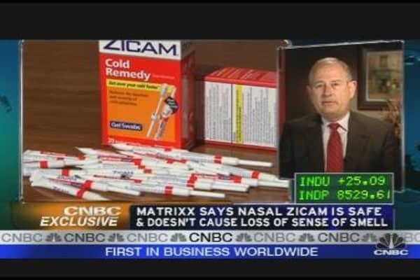 Zicam Maker Reacts to FDA