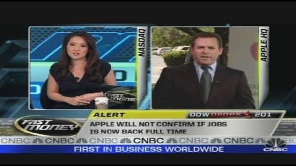Apple's Jobs & Sales