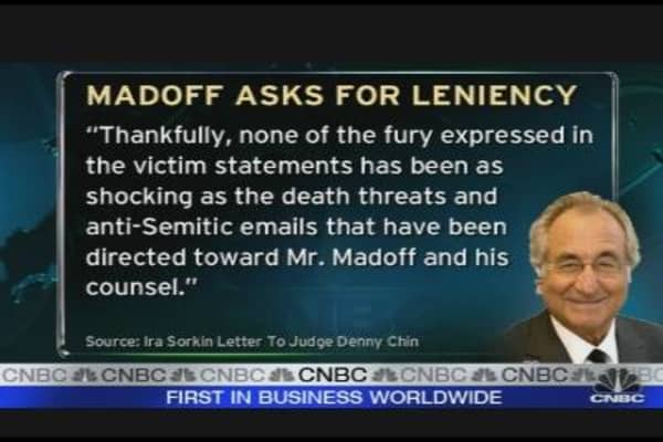 Madoff Asks for Leniency