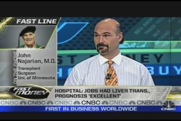 Hospital Confirms Jobs Transplant