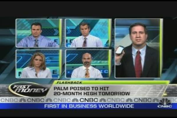 Palm Reports Earnings Tomorrow