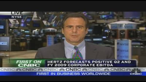 Hertz CEO on Earnings, Outlook