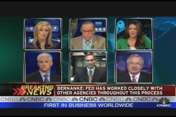 Parsing Bernanke's Testimony
