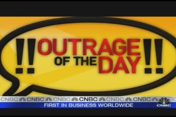 Cramer's Outrage